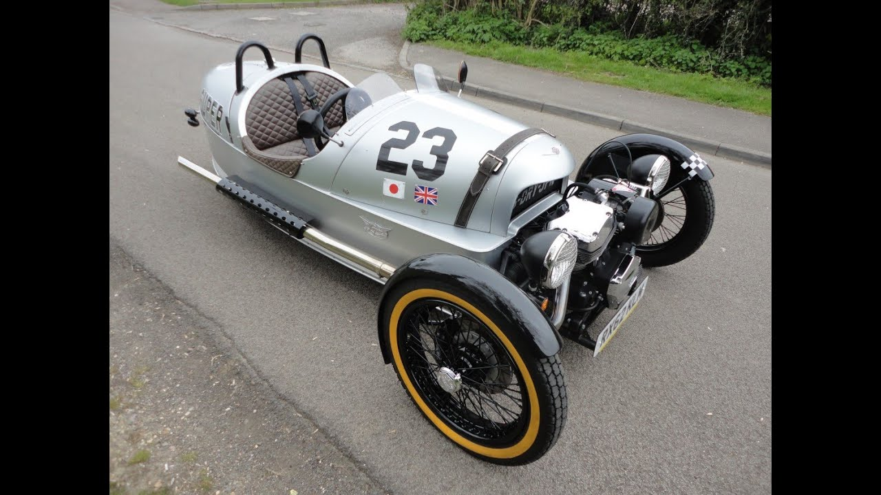 Morgan 3 Wheeler Superdry Limited Edition (2013) - YouTube