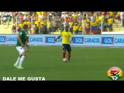 Bolivia 2-3 Colombia Eliminatorias rusia 2018 jornada quinta