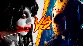 JEFF THE KILLER VS. JASON VOORHEES || COMBATES MORTALES DE RAP || JAY-F