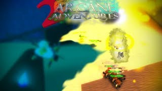 Roblox Arcane Adventures 2 Grand Reopening - Training for 2nd magic! (episode 5)