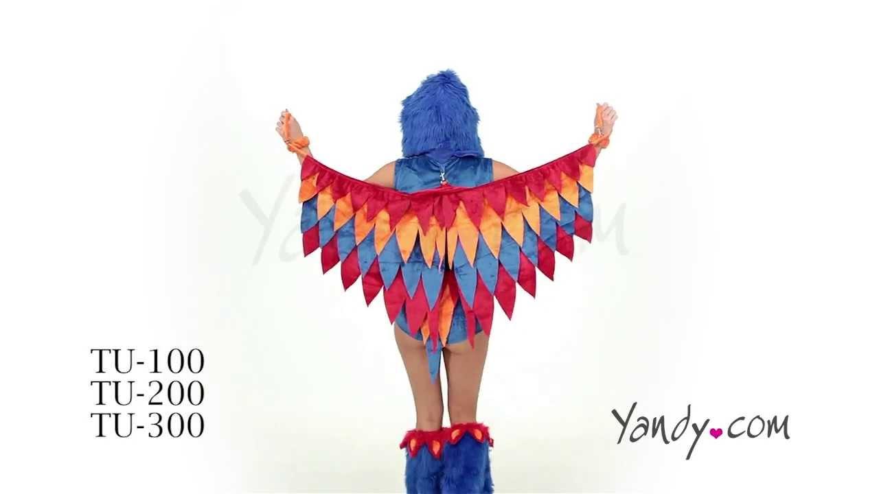 Sexy Parrot Costume TU 100 200 300