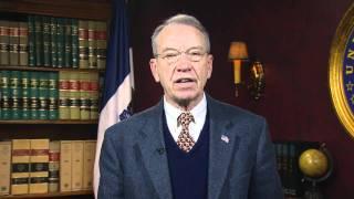 Grassley Weekly Video Address: H-1B Reform Free HD Video