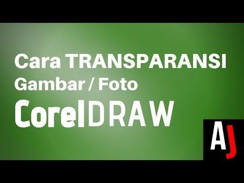 Cara Membuat Gambar Transparan di Coreldraw