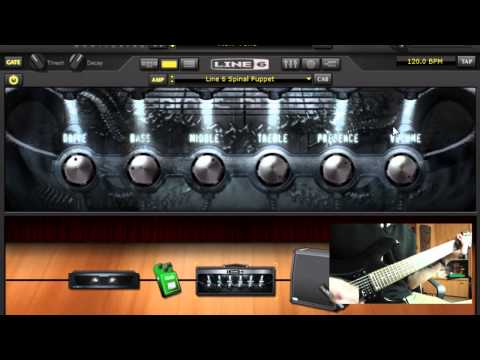How to get Djent/Periphery/Bulb/Misha Mansoor  tone with Line 6 Pod Farm + Download link HQ