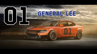 | Dukes of Hazzard | General Lee | Dodge Charger | by RP.DSGN