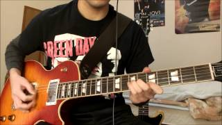 Green Day Missing you (tre) Guitar cover how to play TAB