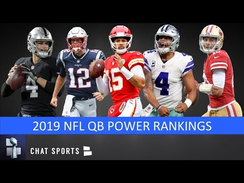 nfl-qb-power-rankings:-projecting-all-32-starting-qbs-in-2019-&-ranking-them-from-worst-to-first