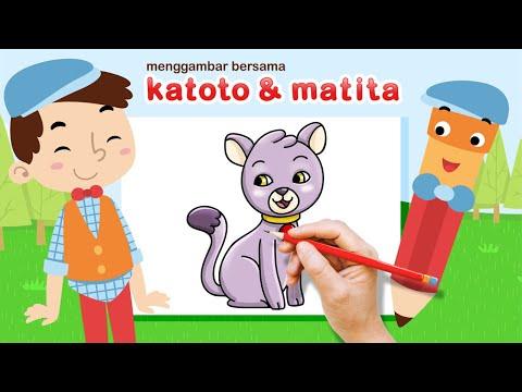 Katoto Drawing Tutorial: Langkah menggambar dan mewarnai ...
