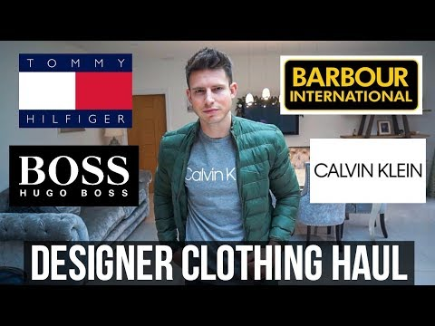 HUGE DESIGNER MENS CLOTHING HAUL & TRY ON (£750+)