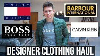 HUGE DESIGNER MEN'S CLOTHING HAUL & TRY ON (£750+)