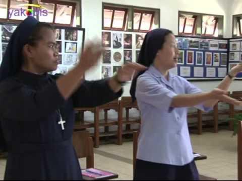 La Lu Le. Mari Puji Tuhan.Dinamika Kursus Persiapan Kaul Kekal, KEVIN 2015
