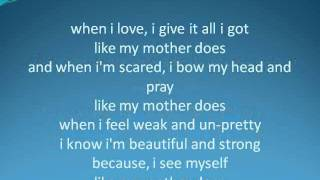 mother daughter songs
