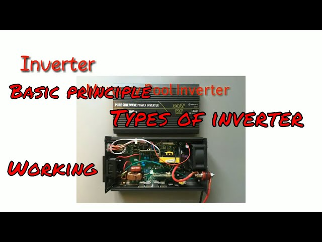 Working principle and types of inverter in hindi - YouTube