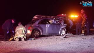 Video Two Killed in Fiery Crash on US Highway 395 download MP3, 3GP, MP4, WEBM, AVI, FLV November 2017