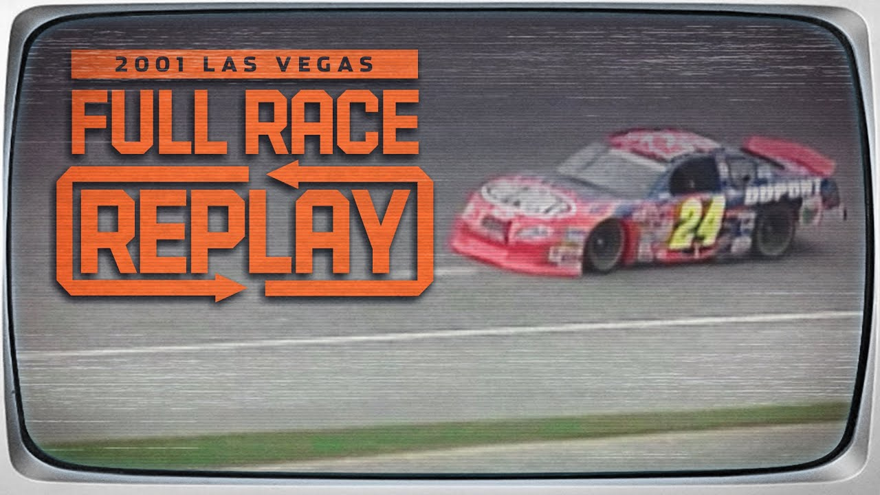 2001 UAW-Daimler Chrysler 400 from Las Vegas Motor Speedway | NASCAR Classic Race Replay