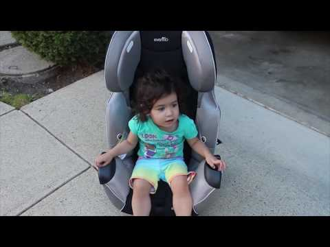 Evenflo Symphony Baby Carseat Blogger Review