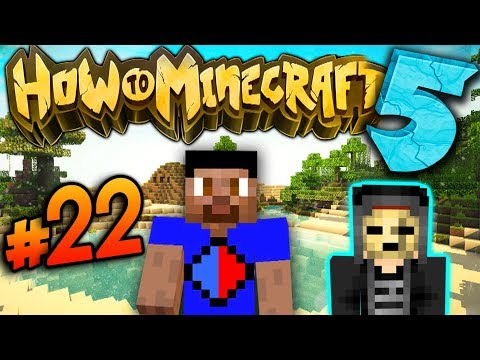 HELPING A ZOMBIE! - How To Minecraft S5 #22