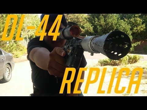 Homemade Airsoft DL-44 Blaster Replica   Happy-Tec