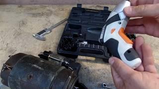 Видео обзор  аккумуляторной  электро отвертки