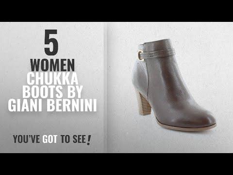 Top 10 Giani Bernini Women Chukka Boots [2018]: Giani Bernini Baari Women's Boots, Cacao, Size 10.0