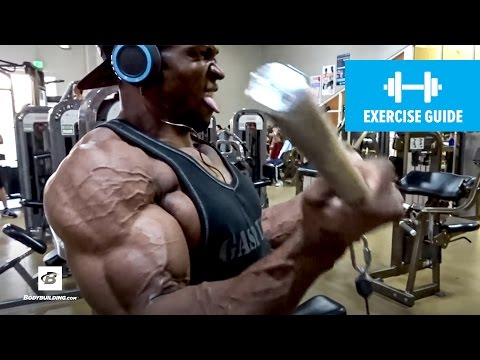 Build Massive Arms with Wide-grip Cable Curls | Kelechi Opara