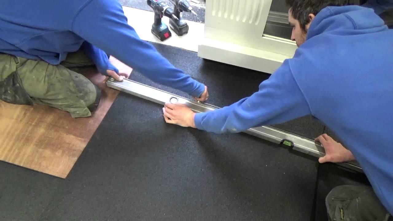 Rubber Flooring NI flooring installation in Glenmore