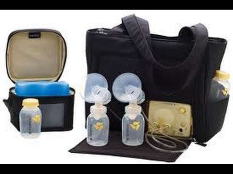 Medela Breast Pump In Style Advanced Tote Bag Review Youtube