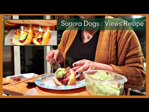 THE BEST MEXICAN HOT DOGS RECIPE   SONORA HOT DOGS   Loaded Bacon Wrapped Hot Dog