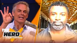 Brian Westbrook thinks Dak is betting on himself with franchise tag, talks Mahomes | NFL | THE HERD