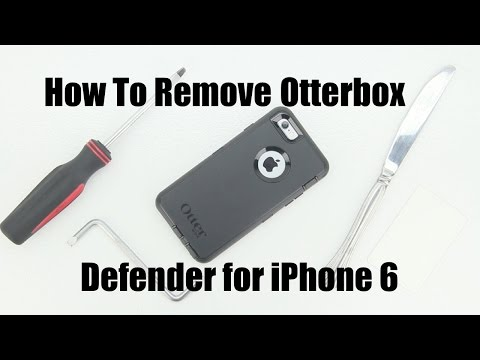 How to Remove The Otterbox Defender Series Case From The Apple