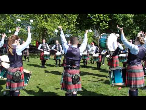 Field Marshal Montgomery Drum Corp - Ards & North Down Championships 2016 - Medley Practice