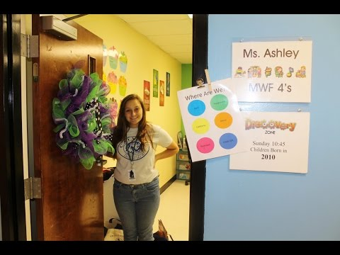 Ms. Ashley's Preschool Classroom Tour 2014