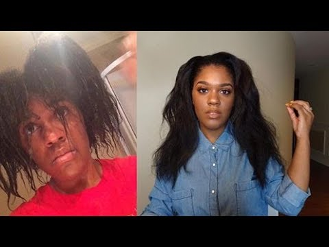My relaxed HAIR JOURNEY + pictures