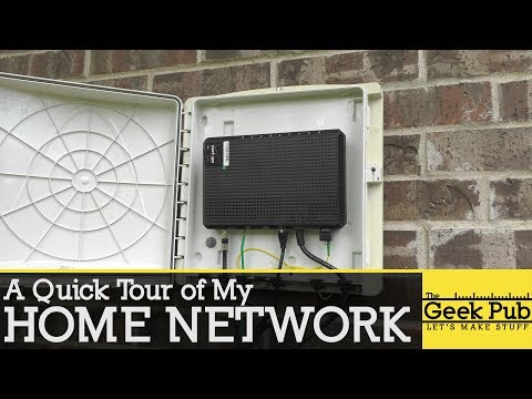 Tour of My Home Network from YouTube · Duration:  8 minutes 50 seconds