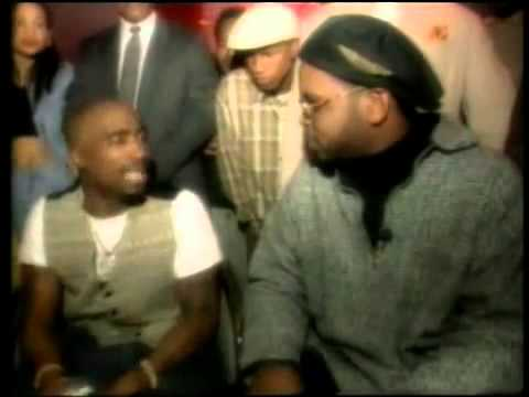 Tupac laughs at his N.Y. assassins on Luke's Peep Show (1995) (RARE)