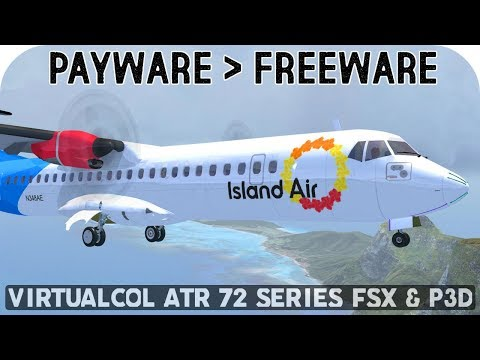 Virtualcol ATR 72 Series Download - Payware To Freeware | FSX & P3D