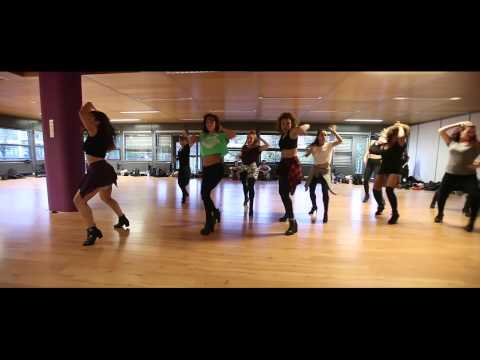 Yanis Marshall 'Grown Woman' by Beyonce Group - Global Dance Centre 2014