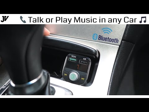 Connect Your Phone To Any Car Radio - Bluetooth Adapter