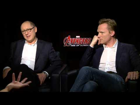 Ultron And Jarvis / Vision Interview The Avengers: Age Of Ultron