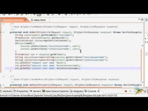 Java Ile Web Programlama Bölüm 7 Context