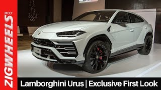 Lamborghini Urus in India | Exclusive First Look | ZigWheels.com
