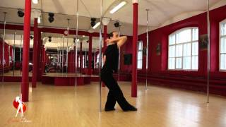 Видеоуроки Школы танцев Exotic Dance. Урок 1: Первые шаги.