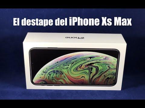 Qué hay en la caja del iPhone Xs Max?