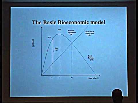 IMBER ClimEco3 - 19 - Basic Bioeconomic Model Of Fishing - Rashid Sumaila