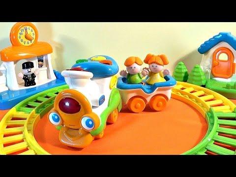 Паровозик и железная дорога Weina - играем с Даником.  Train Set, Toy Train.