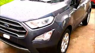 2018 Updated Ford EcoSport Titanium Plus - Smoke Grey Color !!