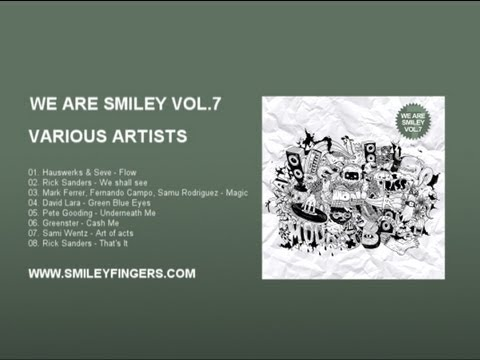 WE ARE SMILEY VOL. 7 Various Artists - Smiley Fingers tech house deep 2013