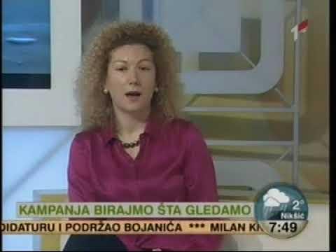 RTCG 20.03.2018 Kampanja Birajmo šta gledamo, Elvira Ceković