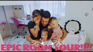WE SURPRISE THE KIDS WITH A BEDROOM MAKEOVER... LOFTS INCLUDED!!! (They're still in SHOCK)