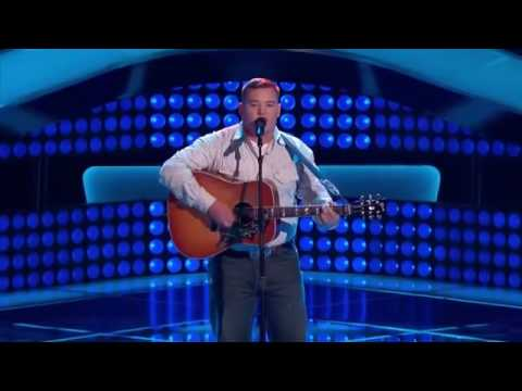 Jake Worthington -  Don't Close Your Eyes - the voice  - Ful